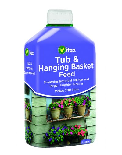 Vitax Tub & Hanging Basket Liquid Feed 1L