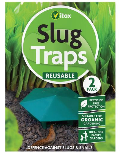 Vitax Reusable Slug Traps 2 Pack