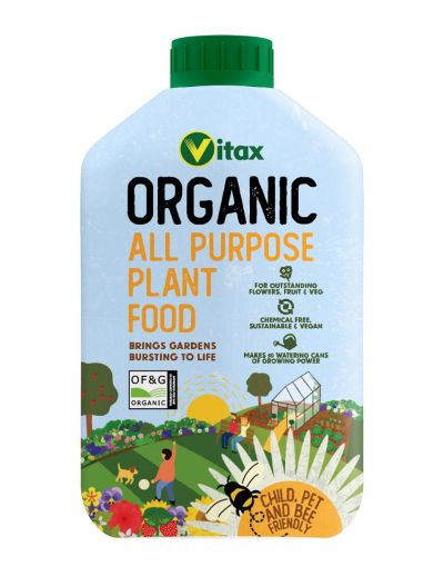 Vitax Organic All Purpose Plant Food 1L
