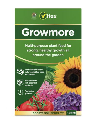 Vitax Growmore General Purpose Fertiliser 1.25KG