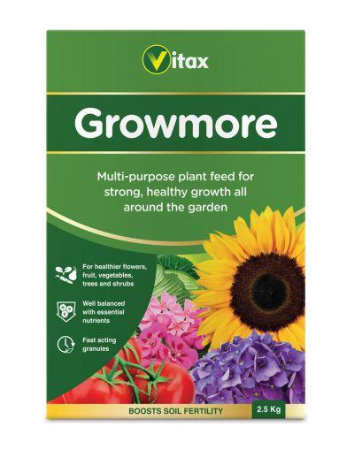 Vitax Growmore General Purpose Fertiliser 2.5KG