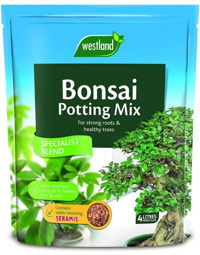 Westland Horticulture Bonsai Repotting Mix with added Seramis 4L