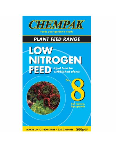 Chempak No.8 Low Nitrogen Plant Feed 750G