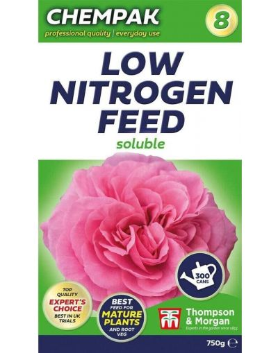 Chempak Soluble Low Nitrogen Feed Formula No.8 750G