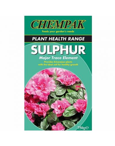 Chempak Major Trace Element Sulphur 750G