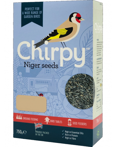 Chirpy Bird Foods Niger Seeds 1KG Carton
