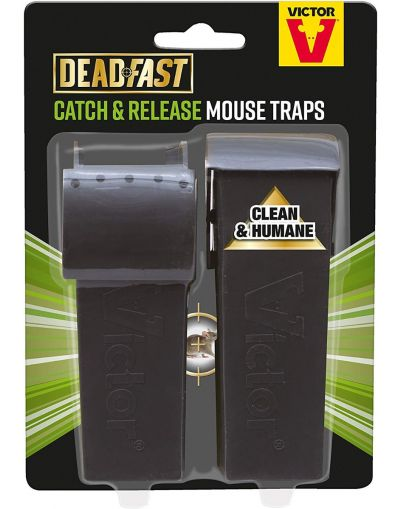 Deadfast Catch & Release Mouse Trap Twin Pack