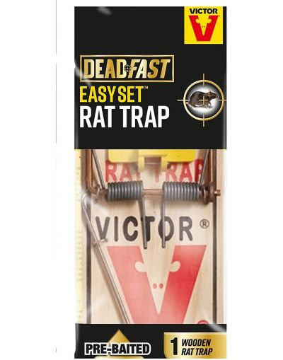 Deadfast Easy Set Pre-Baited Rat Trap