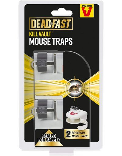 Deadfast Kill Vault Mouse Trap Twin Pack