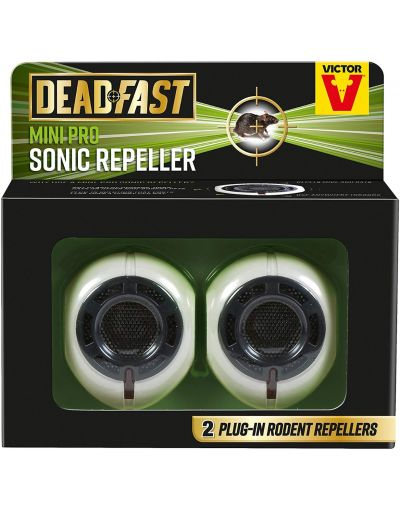 Deadfast Mini Pro Rat & Mouse Sonic Repeller Twin Pack