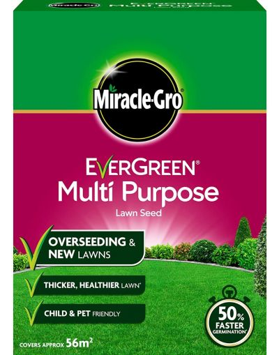 Miracle-Gro EverGreen Multi-Purpose Lawn Seed 1.6KG 56m2