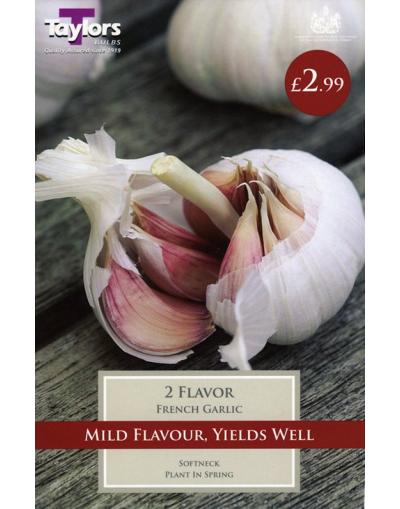Taylors Bulbs French Garlic Flavor 2 Bulbs Pre-Pack