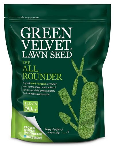Barenbrug Green Velvet The All Rounder Lawn Seed 1.75KG