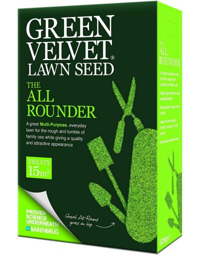 Barenbrug Green Velvet The All Rounder Lawn Seed 525G