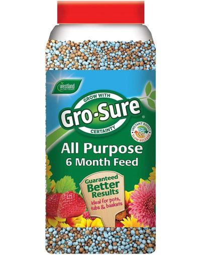 Westland Horticulture Gro-Sure Slow Release Plant Food Jar 1.1KG