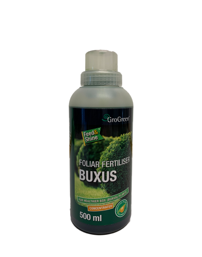 GroGreen Feed & Shine Buxus Foliar Fertiliser Ready To Use Spray 750ML
