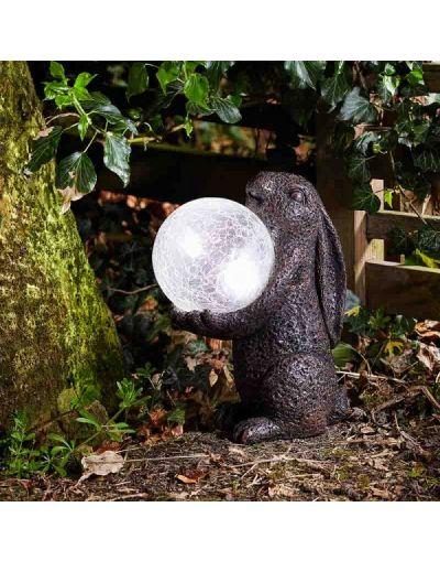 Smart Solar Hare Magic Garden Ornament