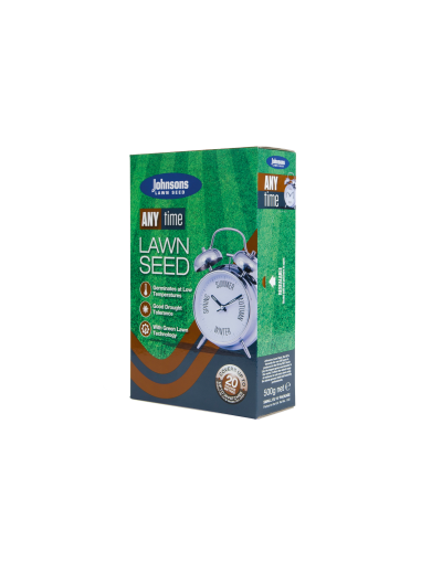 Johnsons Any Time Lawn Seed 500G 20SQM