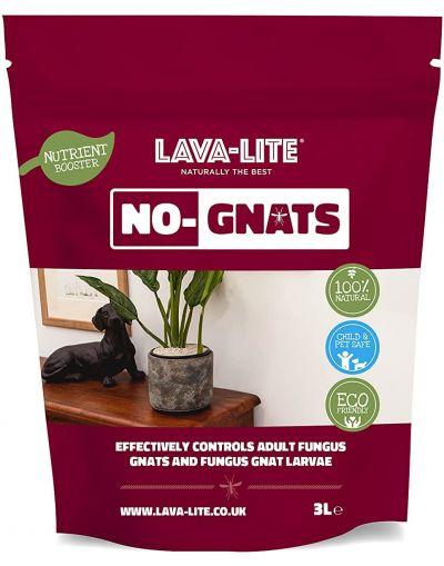 Lava-Lite Natural & Eco Friendly No-Gnats Fungus Gnat Barrier & Fungus Gnat Control 1L