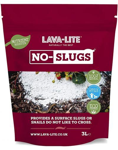 Lava-Lite Natural & Eco Friendly No-Slugs Slug Repellent 3L