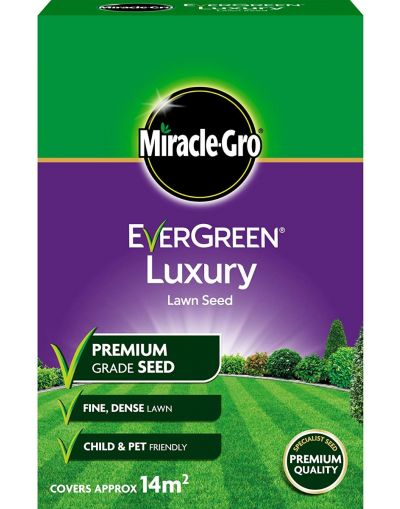 Miracle-Gro Evergreen Luxury Lawn Seed 420G