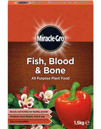 Miracle-Gro Fish, Blood & Bone All Purpose Plant Food 1.5KG