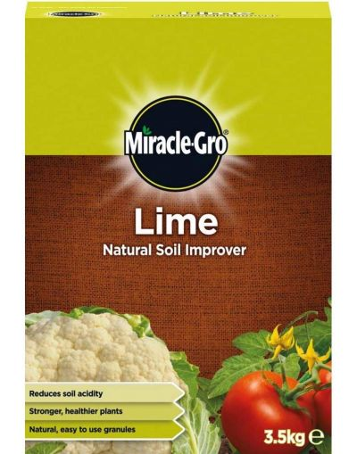 Miracle-Gro Garden Lime Natural Soil Improver 3.5KG
