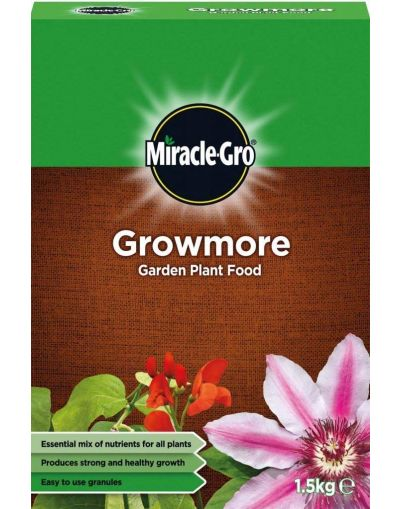 Miracle-Gro Growmore Garden Plant Food 1.5KG