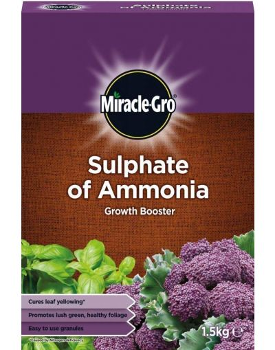Miracle-Gro Sulphate of Ammonia Growth Booster 1.5KG