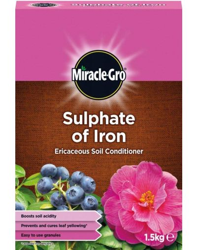Miracle-Gro Sulphate of Iron Ericaceous Soil Conditioner 1.5KG