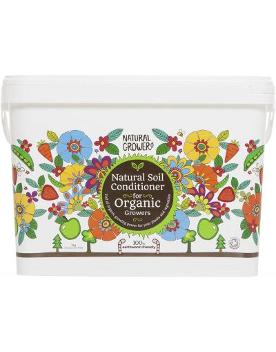 Natural Grower Natural Soil Conditioner for Organic Growers 16L