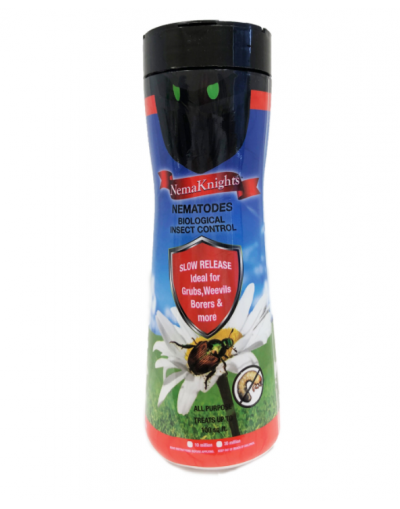 NemaKnights Biological Nematodes Insect Control for Grubs, Weevils, Bores & More up to 100sq. Ft