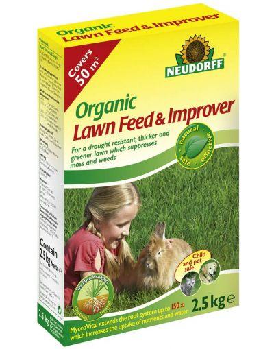 Neudorff Organic Lawn Feed & Improver 2.5KG