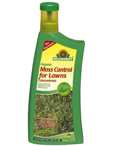 Neudorff Organic Moss Control for Lawns Concentrate 1L