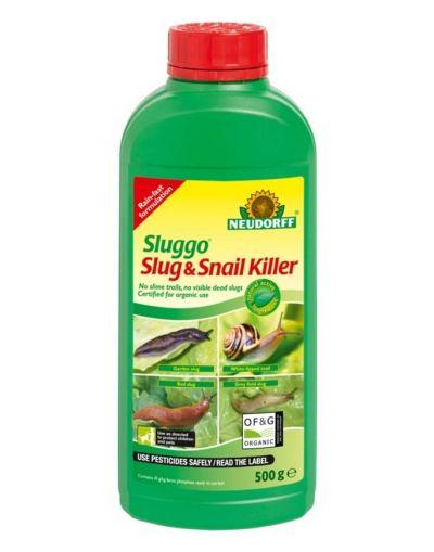 Neudorff Sluggo Slug & Snail Killer 500G