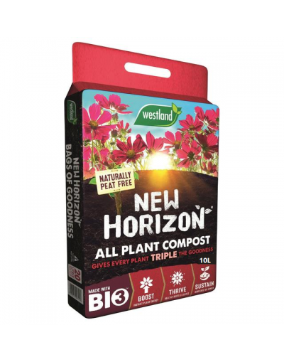 Westland New Horizon All Plant Compost Peat Free & Organic 10L Bag