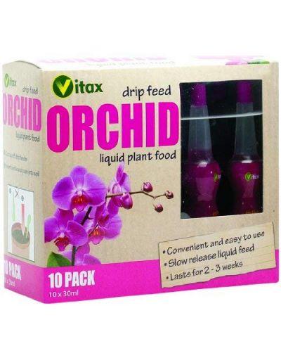 Vitax Orchid Drip Feeders 10 Pack x 30ML