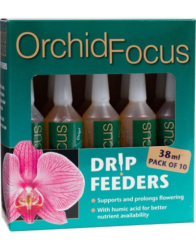 Growth Technology Orchid Focus Drip Feeders 38ML 10 Pack