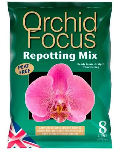 Growth Technology Orchid Focus Repotting Mix 8L