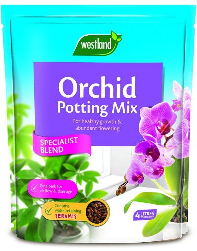 Westland Horticulture Orchid Repotting Mix with added Seramis 4L