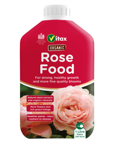 Vitax Organic Liquid Rose Food 1L