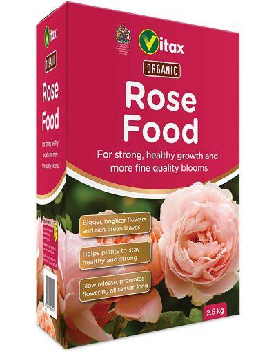 Vitax Organic Rose Food 2.5KG