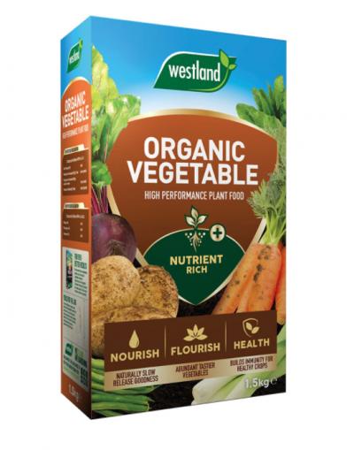 Westland Horticulture Organic Vegetable High Performance Plant Food 1.5KG