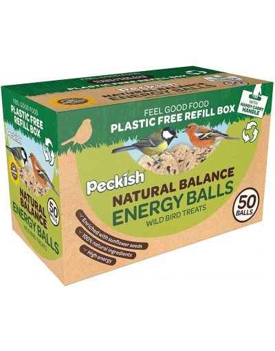 Westland Horticulture Peckish Natural Balance Energy Balls 50 Box Refill