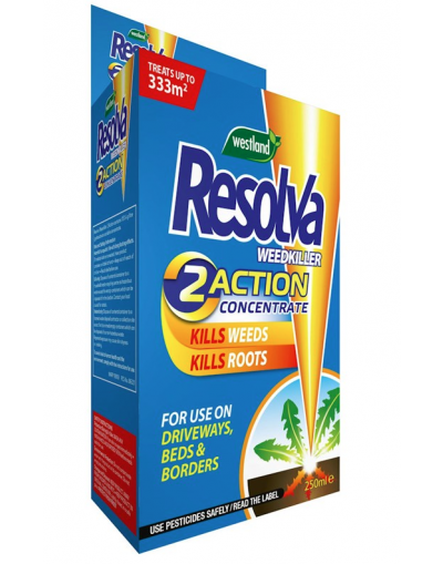 Resolva 2 Action Weedkiller Concentrate 250ML