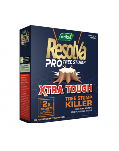Westland Horticulture Resolva Pro Xtra Tough Tree Stump Killer Sachets