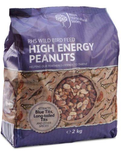 RHS Wild Bird High Energy Peanuts 2KG