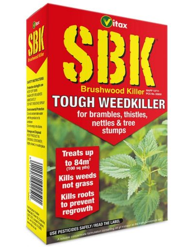 Vitax SBK Brushwood Tough Weedkiller Concentrate 250ML