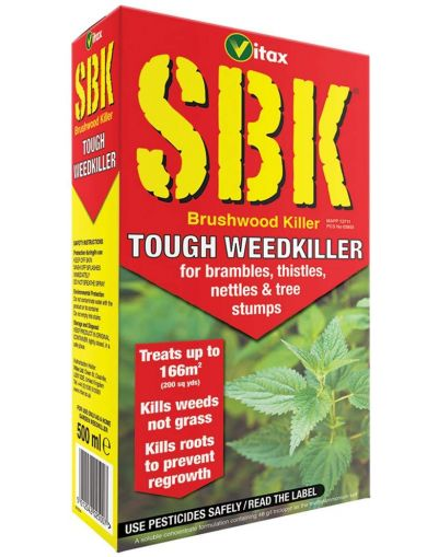 Vitax SBK Brushwood Tough Weedkiller Concentrate 500ML