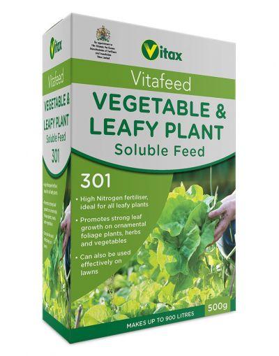 Vitax Vitafeed Vegetable & Leafy Soluble Feed (301) 500G